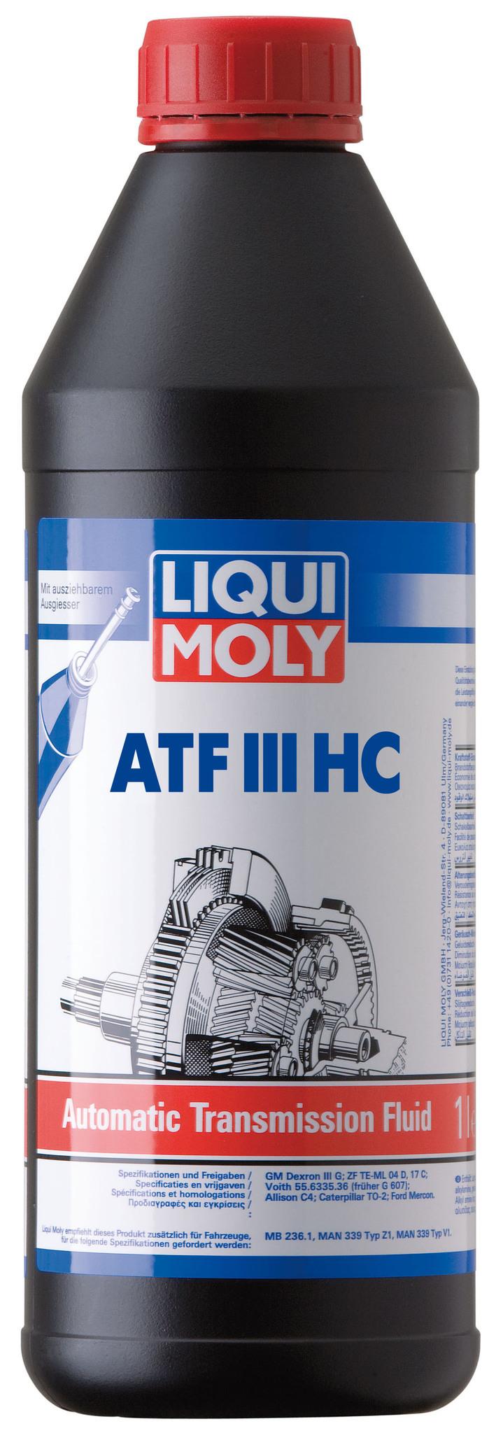 3946 Liqui Moly ATF III (HC)  - Трансмиссионное масло для АКПП