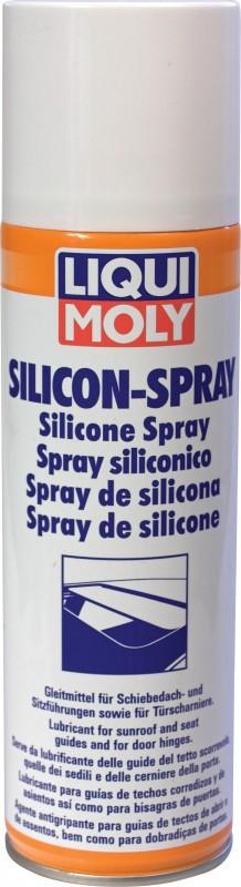 Liqui Moly Silicon Spray  Бесцветная смазка силикон