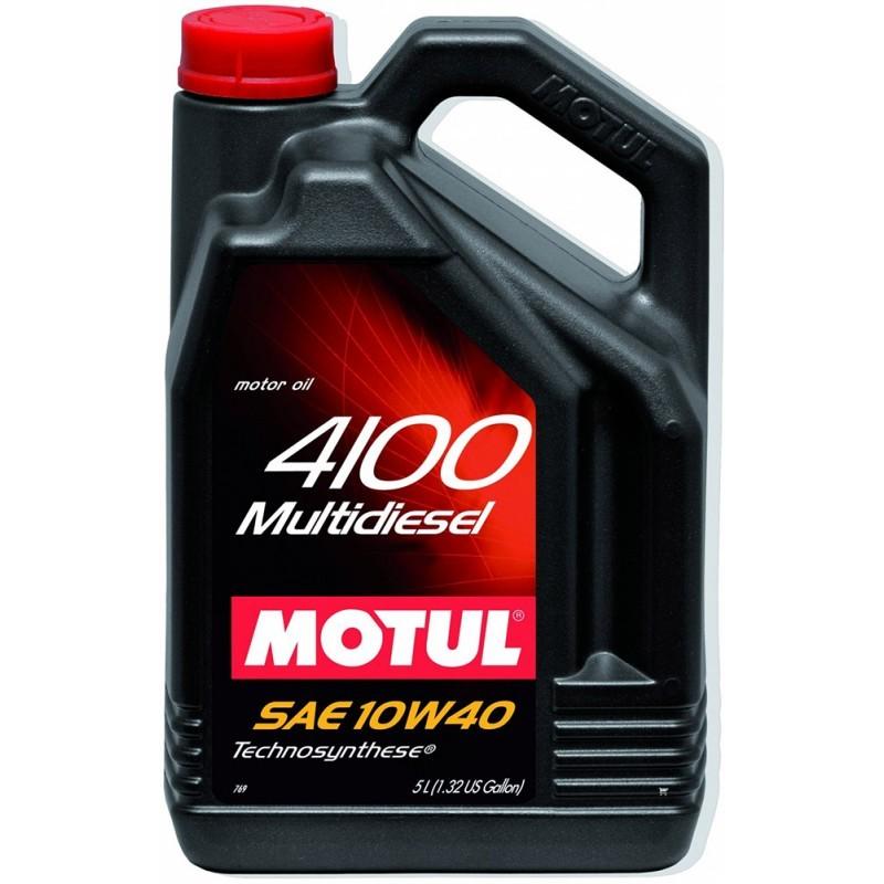 Motul 4100 Multidiesel 10W40 Полусинтетическое дизельное моторное масло