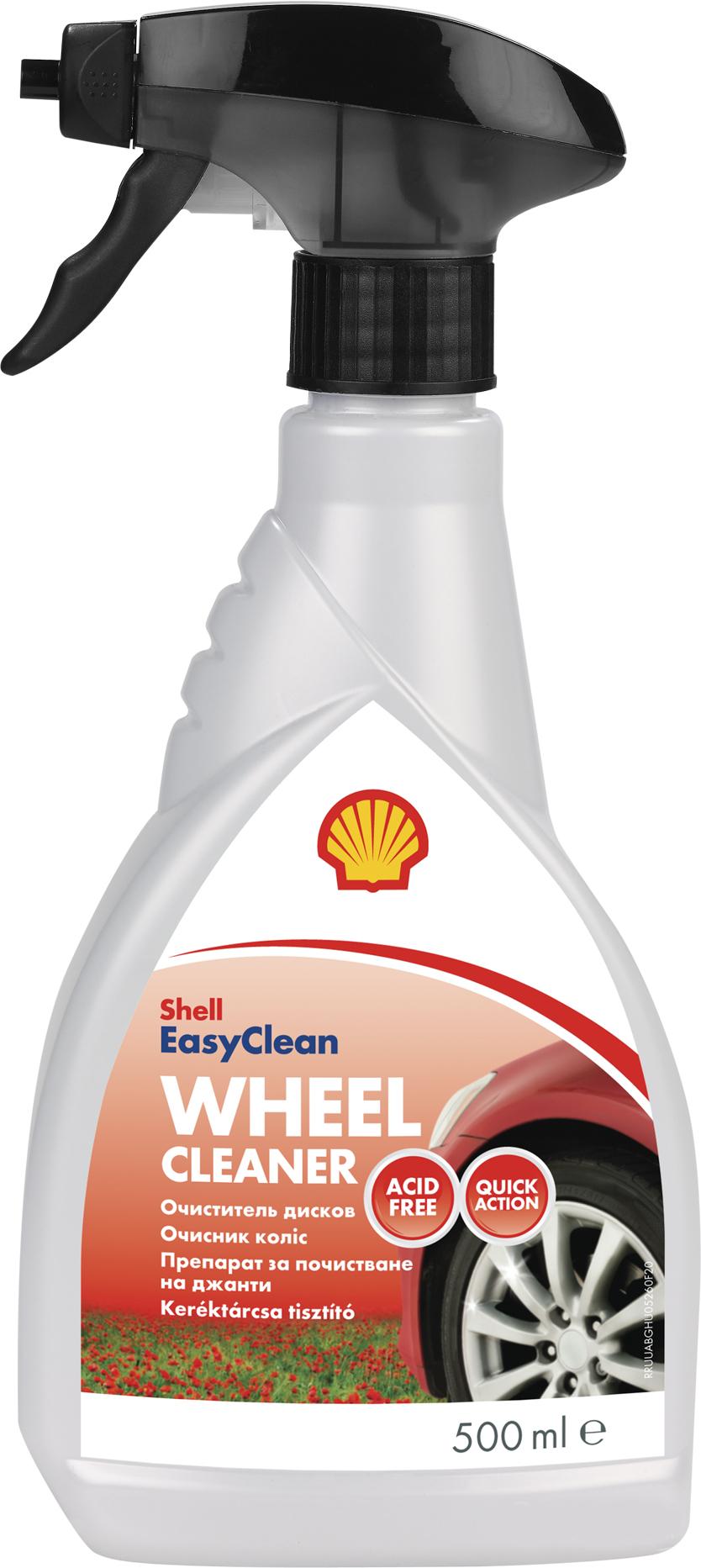 Shell Wheel Cleaner Спрей очиститель колесных дисков автомобилей