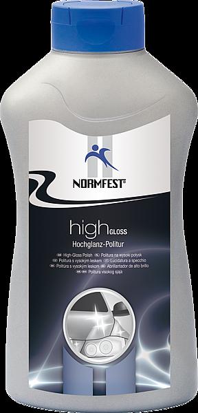 Normfest HIGH GLOSS HOCHGLANZ (1л) - Полироль глубокий блеск,