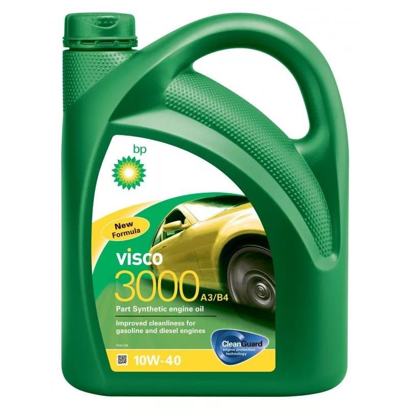 BP Visco 3000 А3/B4 10W40 Полусинтетическое моторное масло