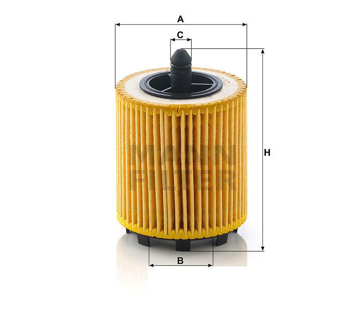 Фильтр масляный MANN HU 6007 X