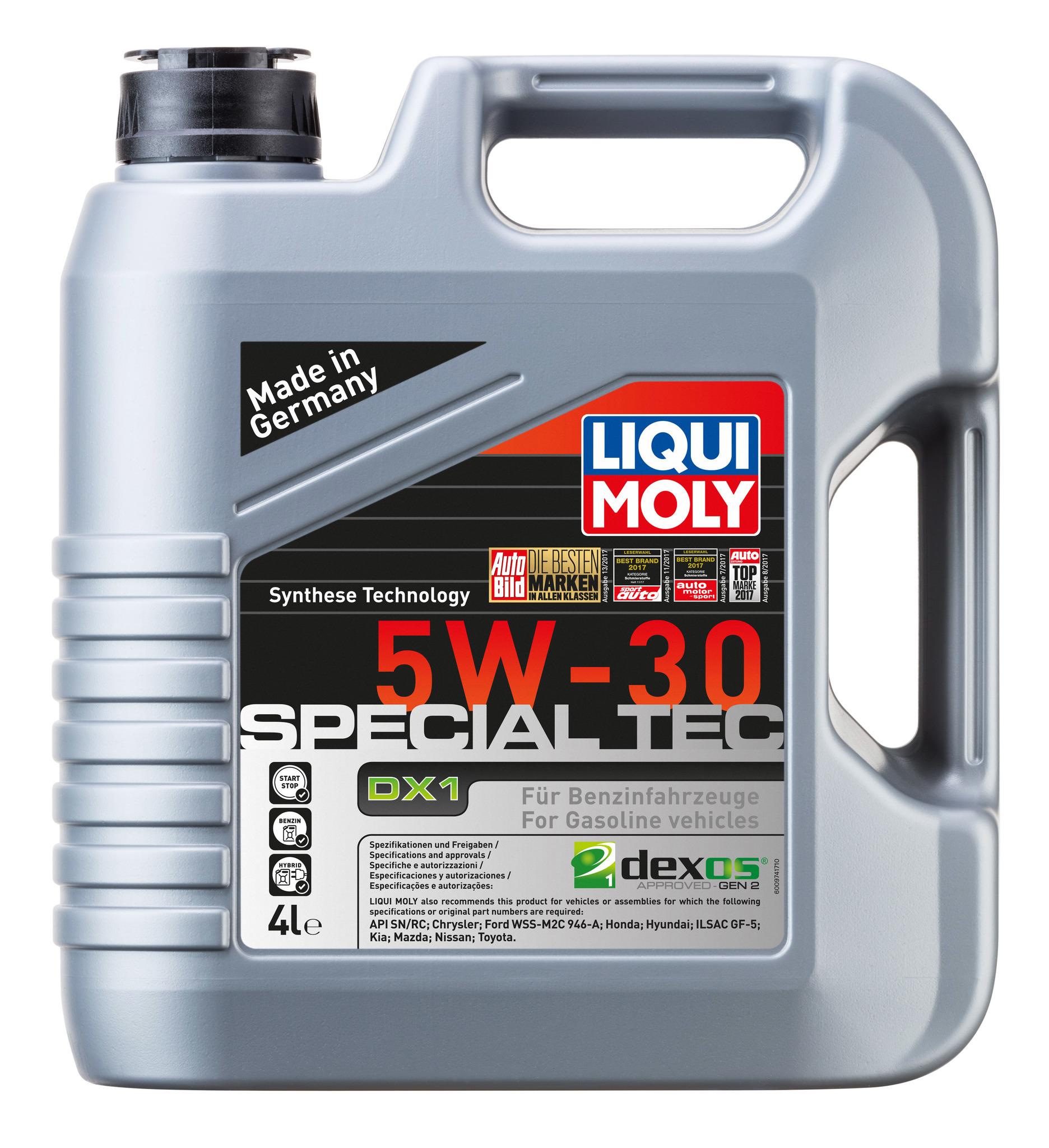 Liqui Moly Special Tec DX1 5W30 НС-синтетическое моторное масло