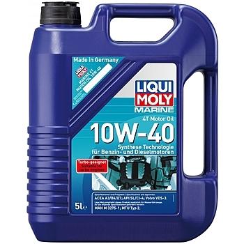 Liqui Moly Marine Motoroil 4T 10W-40 - Полусинтетическое моторное масло для лодок