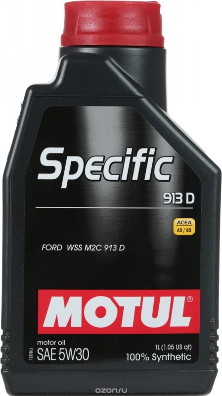 Motul Specific 913D 5W30 Синтетическое моторное масло
