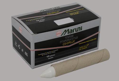 Maruni Tire Marking Chalk (1*10шт)  - Маркировочные мелки для шин (белые)