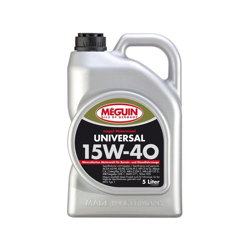 Megol Motorenoel Universal  15W40 Минеральное моторное масло для грузовых дизельных двигателей