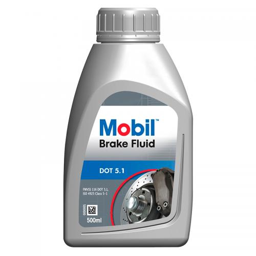 Mobil Brake Fluid DOT5.1 (0.5л) - Тормозная жидкость
