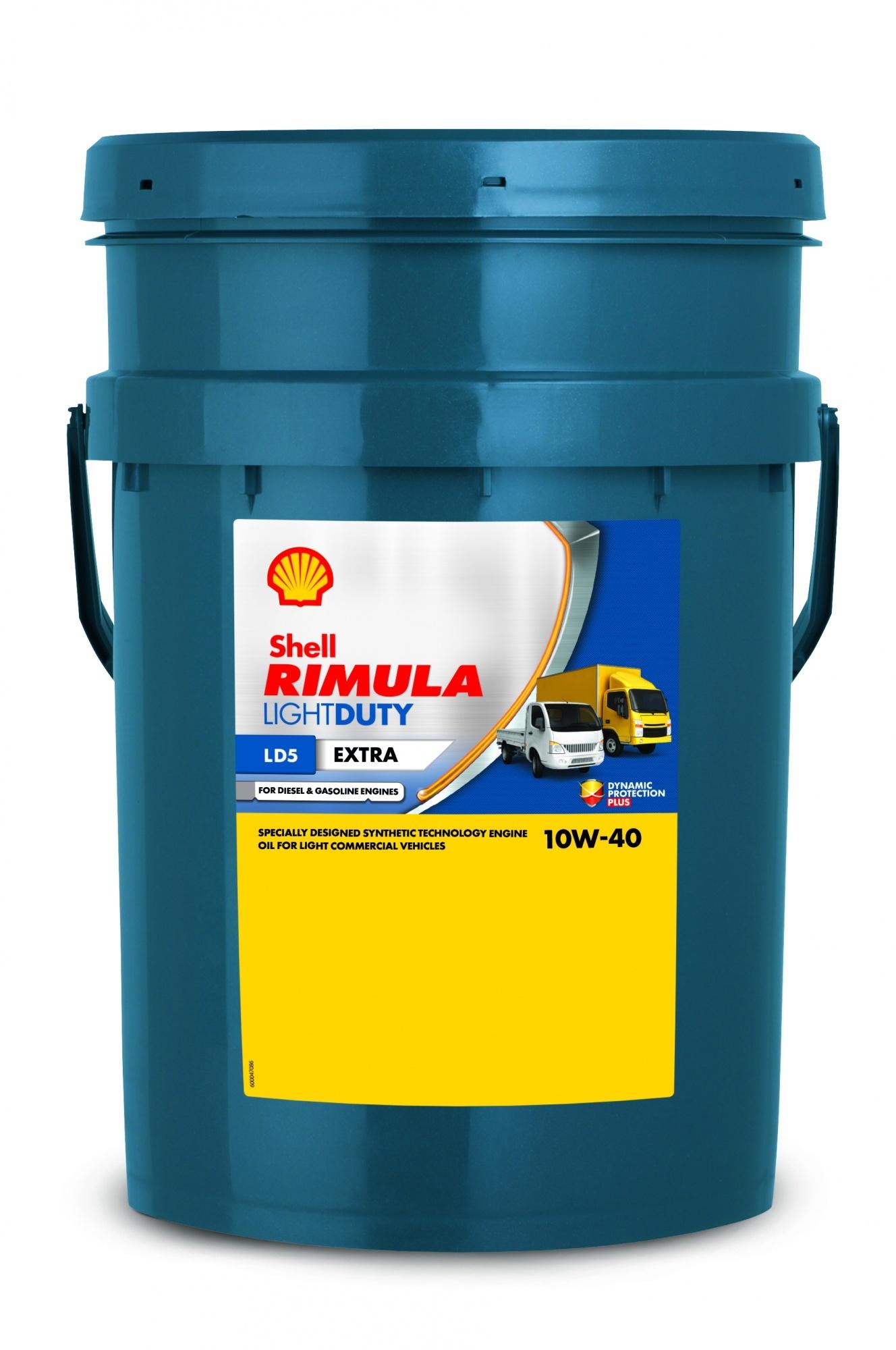 Shell Rimula LD5 Extra 10W40 Синтетическое моторное масло