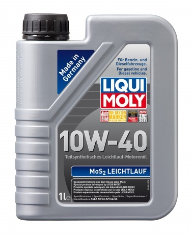 Liqui Moly MoS2 Leichtlauf 10W40 Полусинтетическое моторное масло