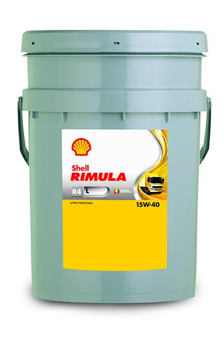 Shell Rimula R4 L 15W40 CJ-4 Дизельное минеральное моторное масло