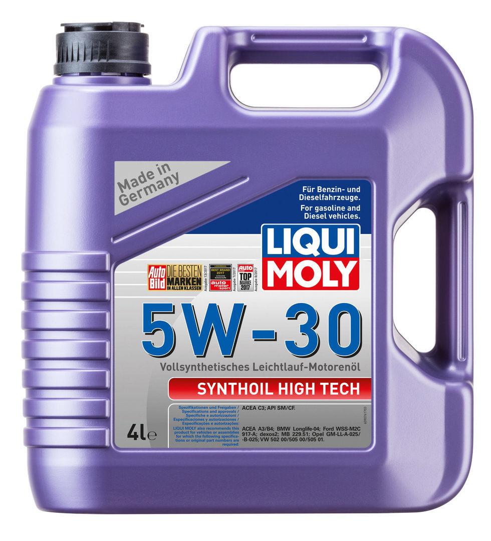 Liqui Moly Synthoil High Tech 5W30 Синтетическое моторное масло (9076)