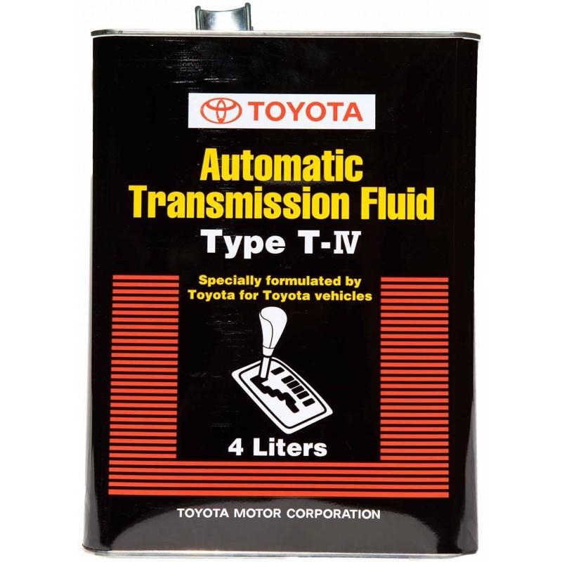 Toyota TYPE T-IV Трансмиссионное масло для АКПП