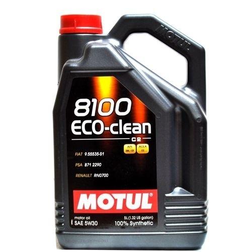 Motul 8100 Eco-clean 5W30 SM/CF С2Синтетическое моторное масло