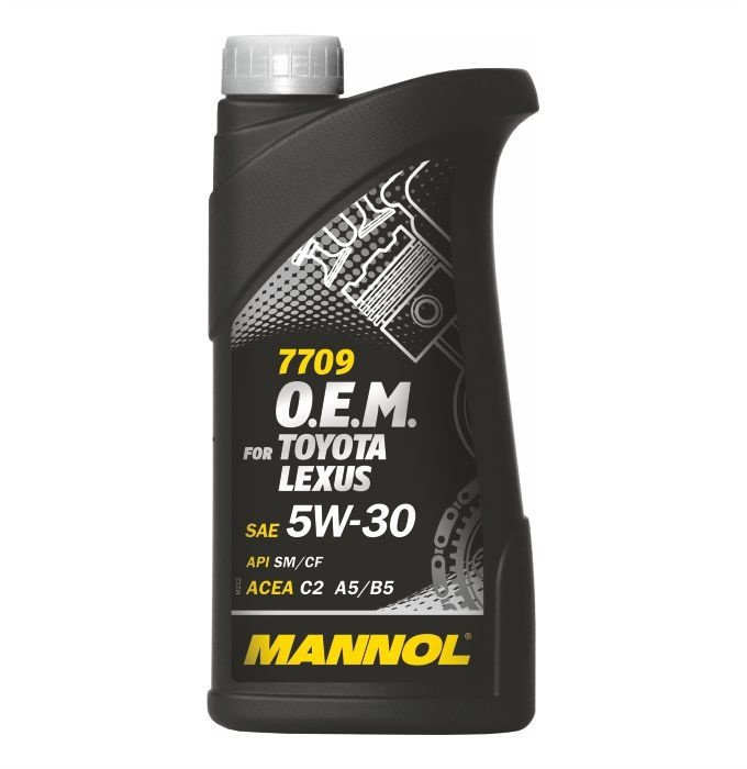Mannol O.E.M. for Toyota Lexus 5W-30 -Синтетическое моторное масло