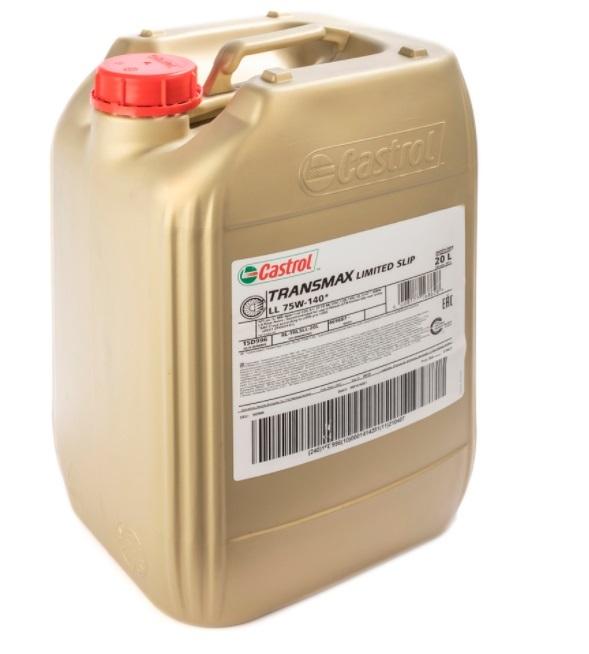 Castrol Syntrax LL 75W-140-Синтетическое трансмиссионное масло для МКПП