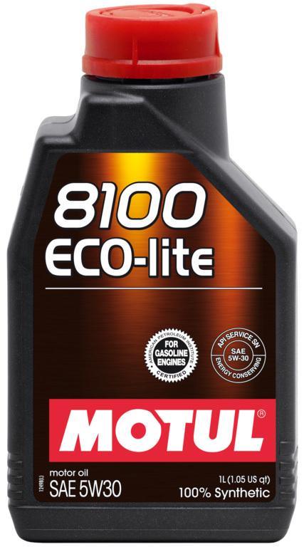 Motul 8100 Eco Lite 5W30 Синтетическое моторное масло