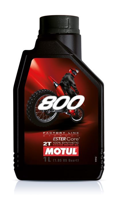 Motul 800 2T Factory Line Off Road Cинтетическое масло для мотоциклов