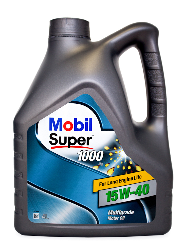 Mobil Super 1000 X1 15W40 Минеральное моторное масло