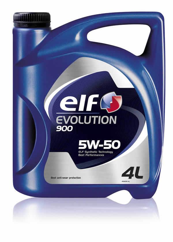 Elf Evolution 900 5W-50 - Синтетическое моторное масло