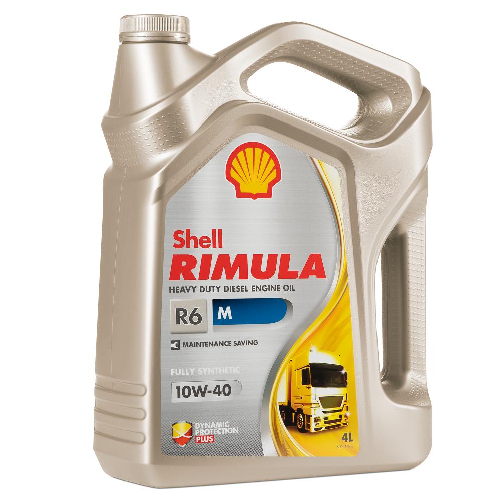 Shell Rimula R6 M 10W40 Синтетическое моторное масло