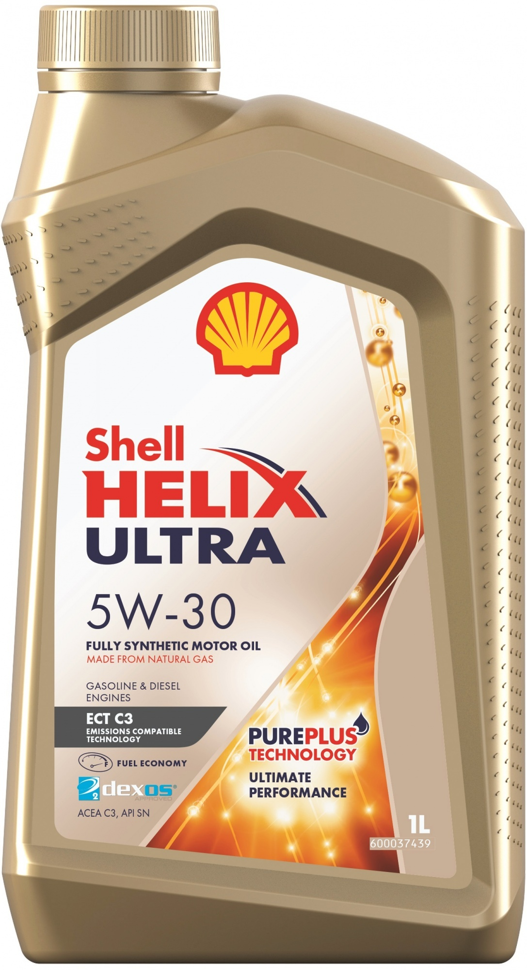 Shell Helix Ultra ECT 5W30 C3 Синтетическое моторное масло