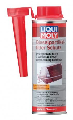 Liqui Moly  Diesel Partikelfilter Schutz Присадка для очистки сажевого фильтра