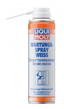 Liqui Moly Wartungs Spray Weiss Грязеотталкивающая белая смазка
