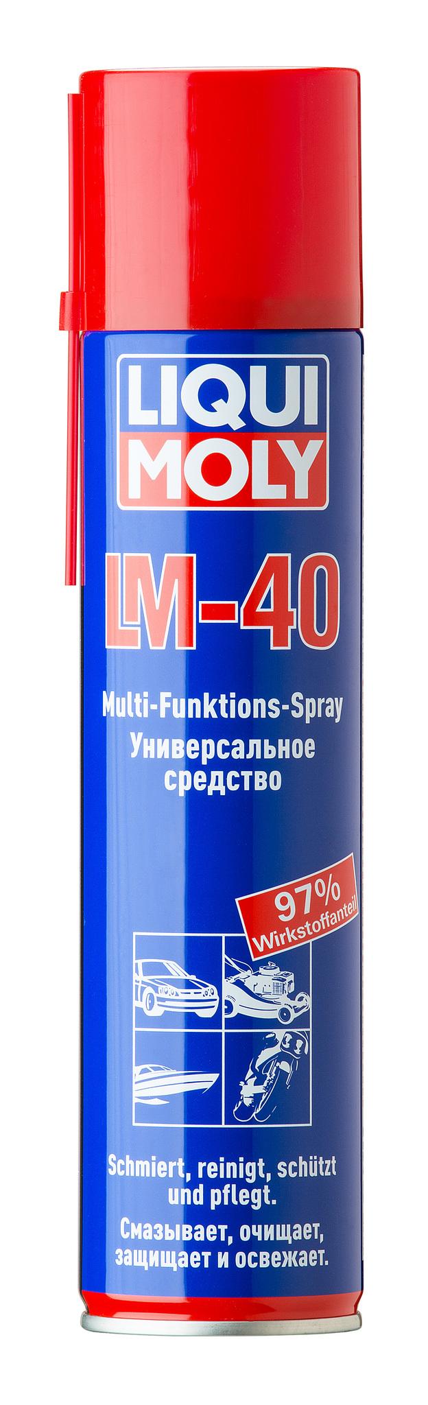 Liqui Moly LM 40 Multi Funktions Spray Многофункциональная смазка