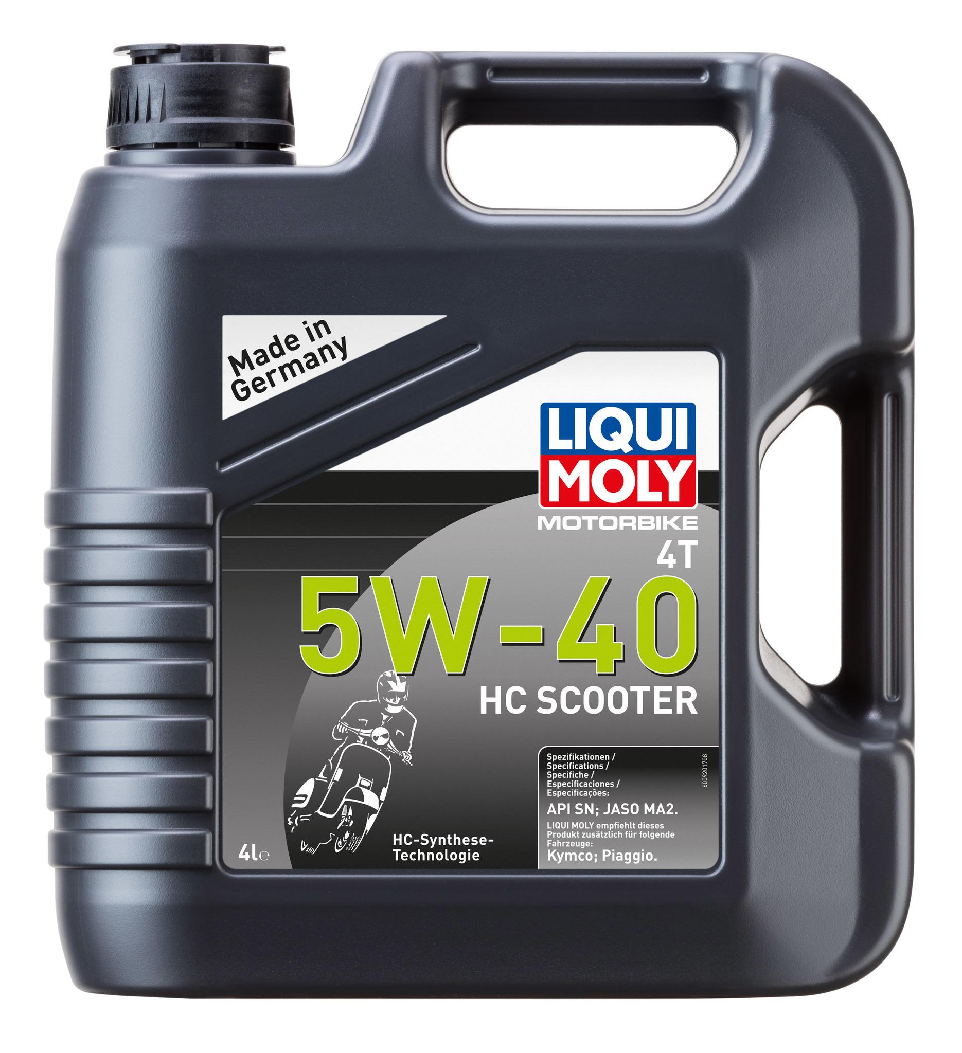Liqui Moly Motorbike 4T HC Scooter 5W40 синтетическое моторное масло