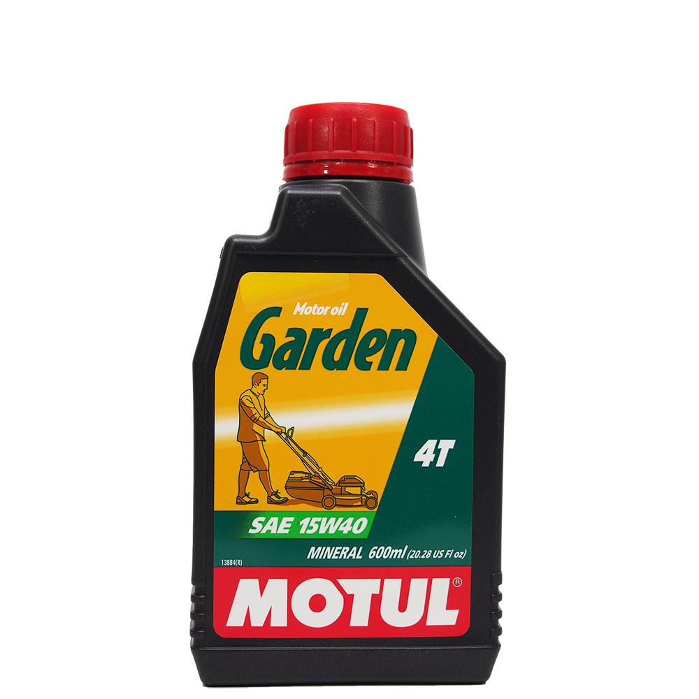 Motul Garden 4T 15W-40 Mineral  Минеральное масло для четырёхтактной садовой техники