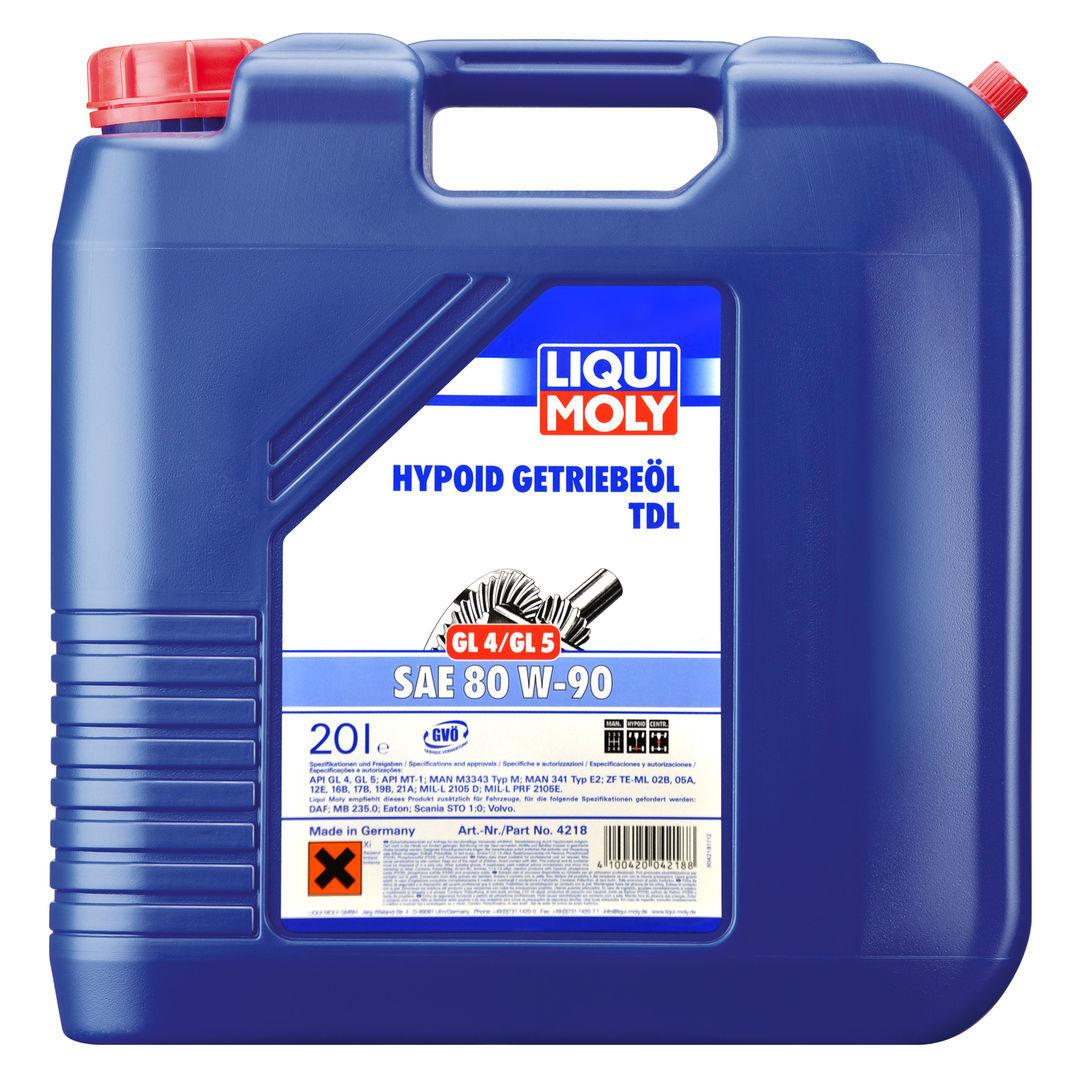 Liqui Moly Hypoid TDL (GL4/GL5) 80W90 Минеральное масло для МКПП
