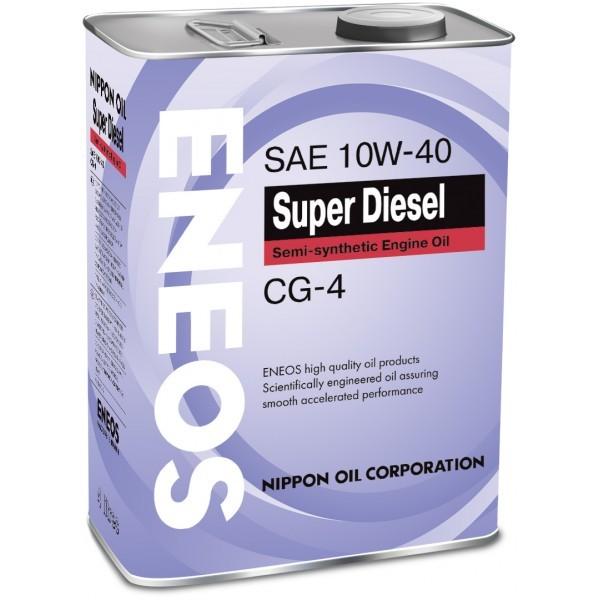 Eneos Super Diesel CG-4 10W40 (4л) – Полусинтетическое моторное масло