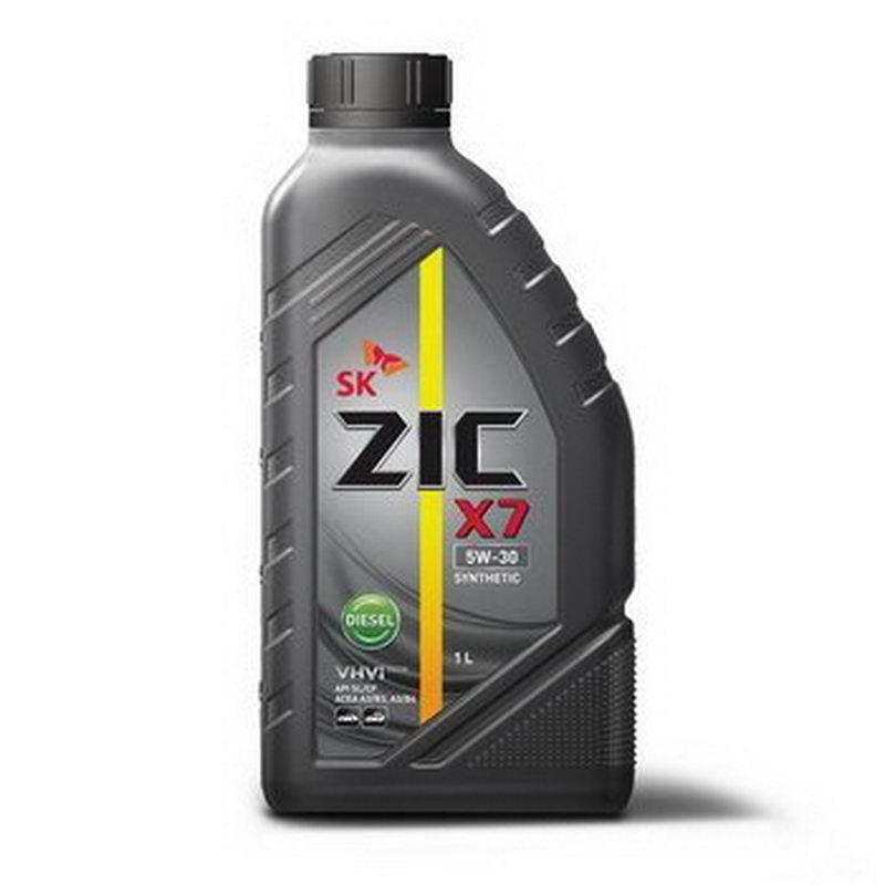 ZIC X7 Diesel 5W-30 - Синтетическое моторное масло для дизельных двигателей (1л)
