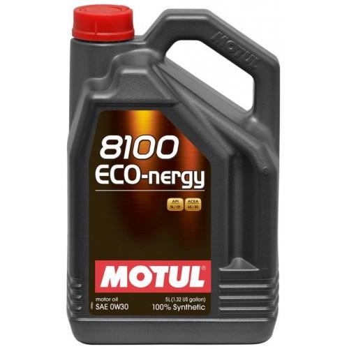 Motul 8100 Eco nergy 0W30 Синтетическое моторное масло
