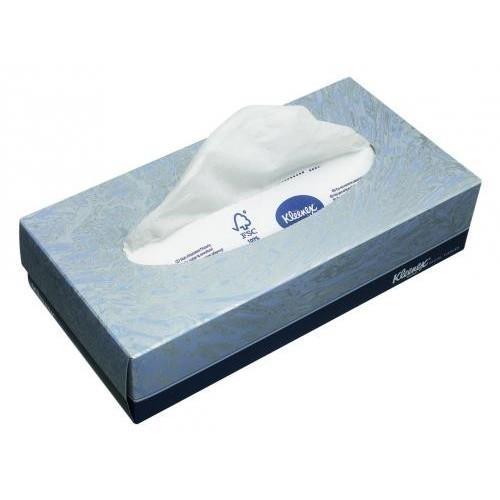 Kimberly-Clark Kleenex Facial Tissues - Салфетки для лица (1*100)