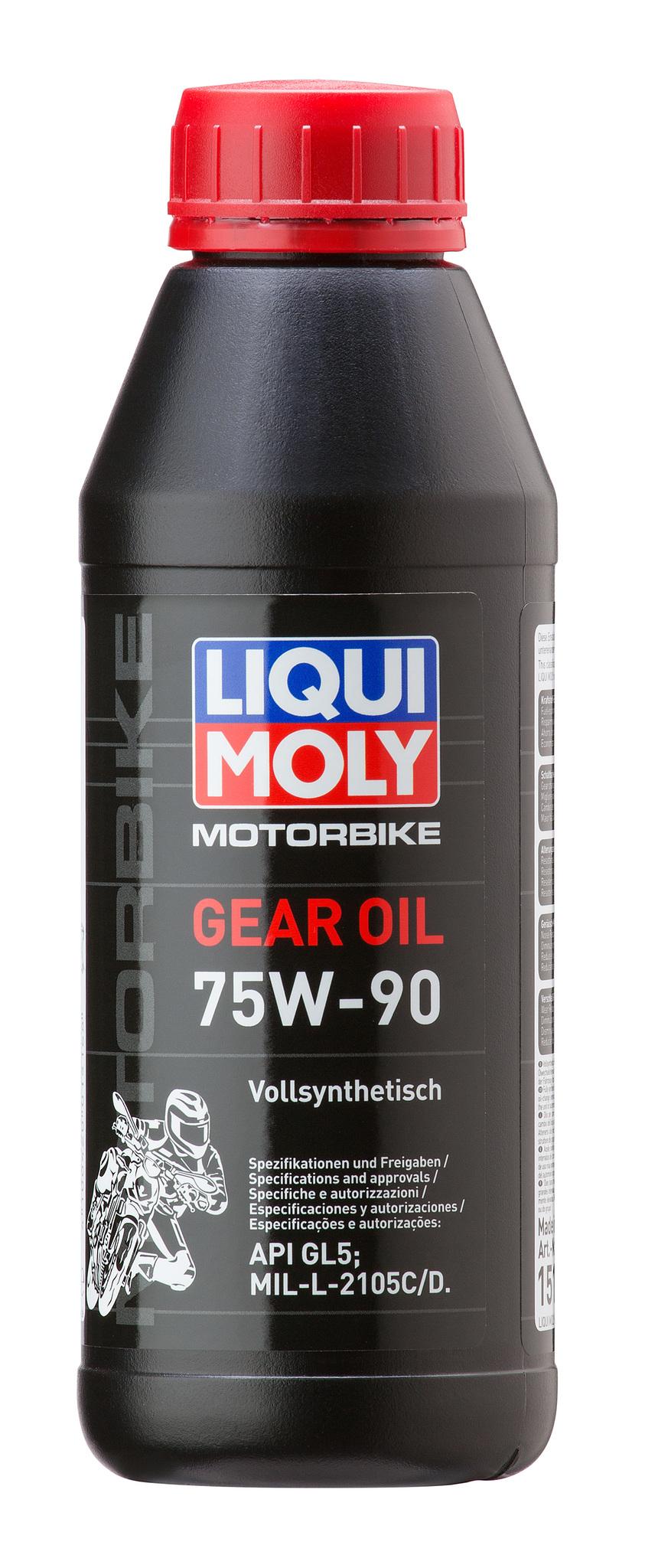 Liqui Moly Motorbike Gear Oil 75W90 Синтетическое трансмиссионное масло для мотоциклов