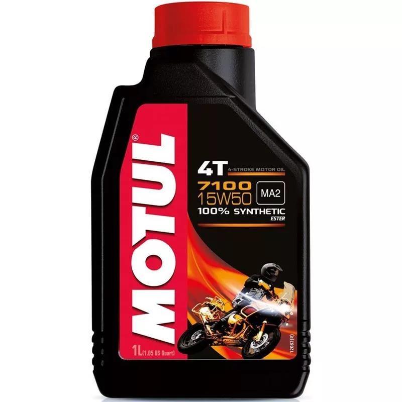 Motul 7100 4T 15W50 Синтетическое мотоциклетное масло
