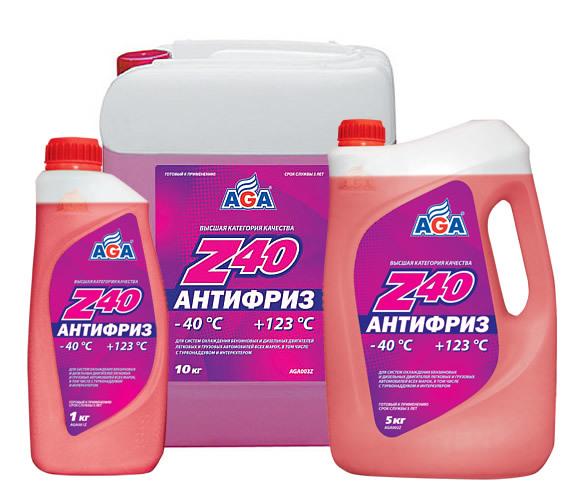 AGA Z-40 - Антифриз готовый (красный)