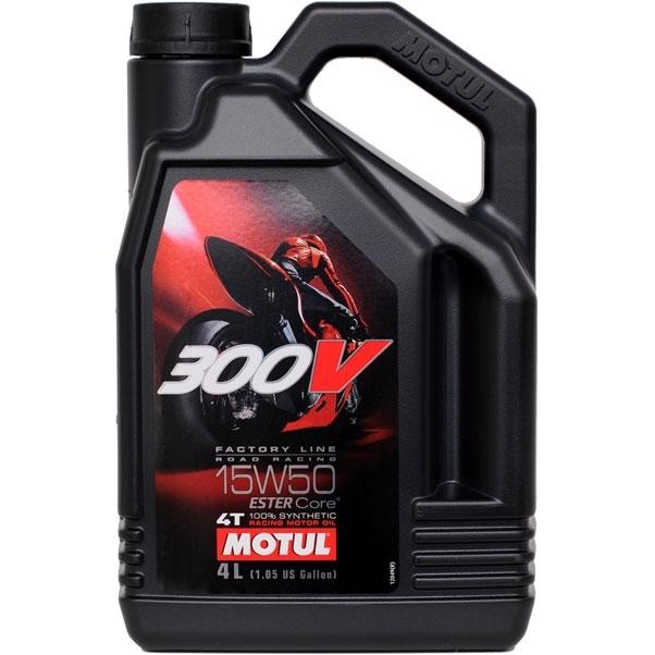 Motul 300V 4T Factory Line Road Racing 15W50 - Синтетическое мотоциклетное масло