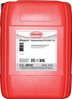Meguin Hydraulikoil R HVLP 32 Индустриальное минеральное гидравлическое масло