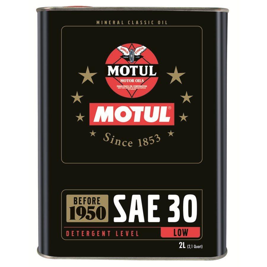 Motul Classic Oil SAE 30 Минеральное моторное масло