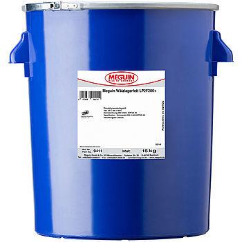 Meguin Walzlagerfett LP2F200+  Минеральная молибденовая литиевая смазка высокого давления (черная)