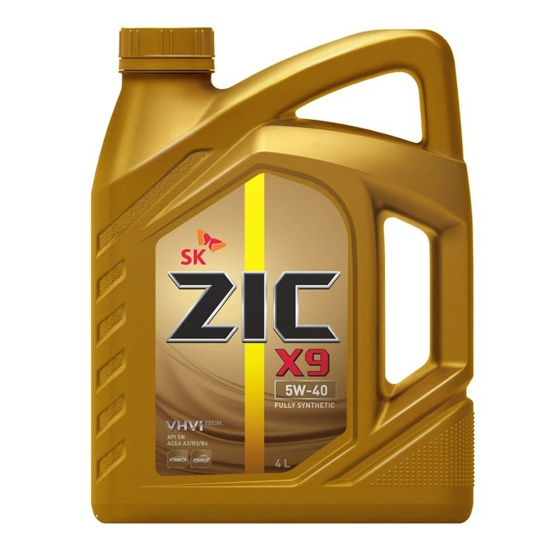 ZIC X9 5W-40 - Синтетическое моторное масло (4л)