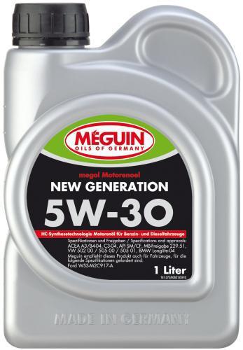Megol Motorenoel New Generation 5W30 НС синтетическое моторное масло