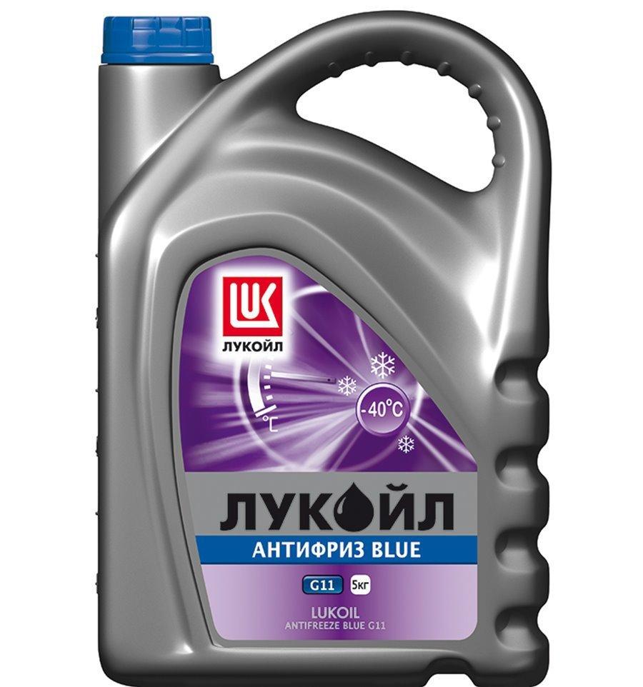 Лукойл G11 Blue -Антифриз готовый (голубого цвета) (5л)