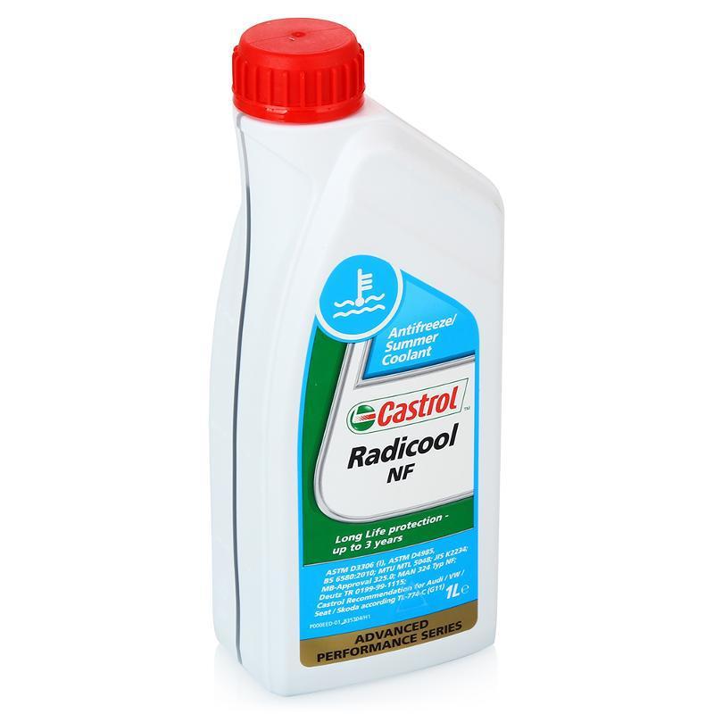 Castrol Radicool NF Антифриз концентрат (синего цвета)