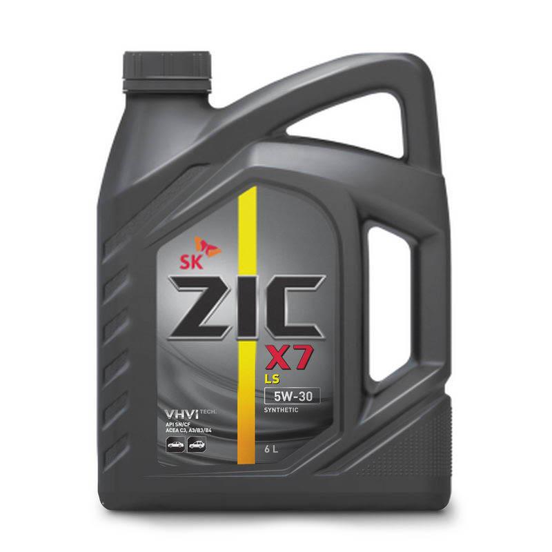 Zic X7 LS 5W30 Синтетическое моторное масло