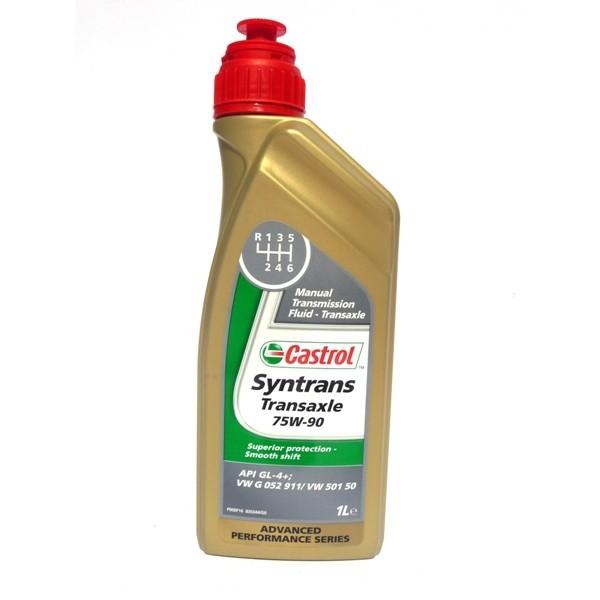 Castrol Syntrans Transaxle 75W-90 GL-4-Синтетическое трансмиссионное масло для МКПП.